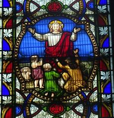 [64733] St Denys, Sleaford : Warwick Window (Budby) Tags: sleaford lincolnshire church window stainedglass