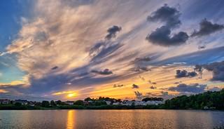 August evening, Norway