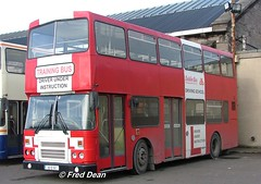 Dublin Bus RH141 (92D141). (Fred Dean Jnr) Tags: dublin april2005 bstone broadstonedepotdublin broadstone buseireannbroadstonedepot dublinbusdrivingschool dublinbus busathacliath leyland olympian alexander r rh141 92d141
