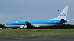 PH-EXM KLM BOEING 737 NEWCASTLE AIRPORT (toowoomba surfer) Tags: jet aeroplane airline airliner aviation aircraft ncl egnt