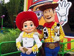 Jessie and Woody (meeko_) Tags: jessie woody toy toystory pixar characters disneycharacters pixarcharacters toystoryland disneys hollywood studios disneyshollywoodstudios themepark walt disney world waltdisneyworld florida incrediblesummer explore