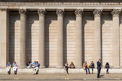 AFS-2017-00697 (Alex Segre) Tags: bankofengland exterior outside iconic famous landmark landmarks facade building buildings architecture people capital city cities london england britain uk english british europe european sunny sunshine travel in a alexsegre