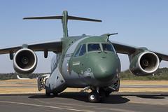 PT-ZNJ_EmbraerKC-390_EmbraerMSN2_FAB_Img02 (Tony Osborne - Rotorfocus) Tags: embraer kc390 farnborough international airshow 2018 prototype brazil