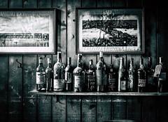 Port (Time to try) Tags: monochrome bottles port empty leica leicaq london pub birmingham uk westmidlands