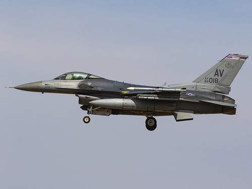 United States Air Force | General Dynamics F-16CM Fighting Falcon | 89-2018