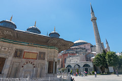 Istanbul - Fontaine d'Ahmed III (Darth Jipsu) Tags: ahmediii constantinople hagiasophia church landmark ayasofya istanbul turkey ottoman mosque topkapı fountain museum rococo unesco architecture minaret dome europe basilica byzantine turquie tr