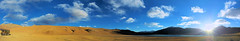 Thadsang Karu at Sunset - A Panorama (pallab seth) Tags: leh ladakh jammukashmir india autumn colour color thadsangkarulake landscape mountains himalayas highaltitudelake panorama sunset kyagartso