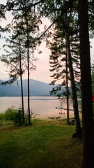Evening at the cabin (ram_consulting) Tags: kootaney lake kootenay