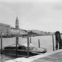 Venise (Yael P) Tags: zeissikon folding mediumformat filmisnotdead shotonfilm believeinfilm vintagecamera blackwhite rodinal 6x6 kodak kodaktmax100