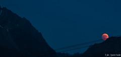Eclipse lunaire 27 juillet 2018 (Quentin Douchet) Tags: alpes alpesfrançaises alps auvergnerhônealpes france frenchalps savoie savoy ciel cielnocturne eclipselunaire2018 landscape lunareclipse2018 lune montagne moon mountain nightsky paysage sky éclipselunaire27juillet2018 bellentre fr