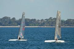 800_4422 (Lox Pix) Tags: queensland qld australia woodypoint hyc humpybongyachtclub winterbash foiling foilingcatamaran catamaran trimaran loxpix bramblebay boats
