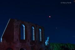 Eclissi di luna 2018 - (Luna e Marte) (marcopanfili) Tags: redfilter filtrorosso marte mars gubbio italia umbria italy eclissi luna moon sangue blood