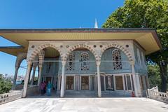 Istanbul - Palais Topkapı - Kiosque de Bagdad (Darth Jipsu) Tags: constantinople bağdatköşkü suleiman bagdad historic landmark istanbul turkey kiosk ottoman unesco mehmed palace topkapı architecture europe sultan byzantine turquie tr