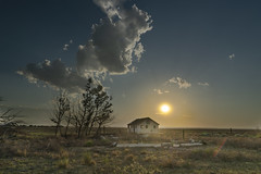 The Old House on CO-207 (Tom Herlyck) Tags: sunset sky old abandoned manzanola crowleycounty rural colorado smoke southerncolorado southeasterncolorado
