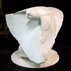 Swooper (dayman1776) Tags: brookgreen gardens south carolina sculpture statue beautiful america usa american marble owl modern nature wings flying fly