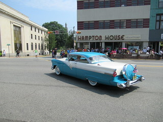1956 Ford Victoria, 2018 Independence Day Parade, Montclair, NJ