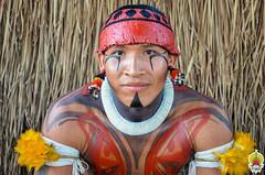 Kuarup - aldeia Kamayurá © Hilda Azevedo-6 (Funai - Fundação Nacional do Índio) Tags: kamayura29082018 kuarup presidentedafunaiwallacebastos