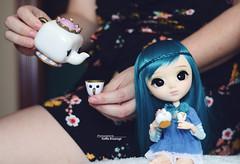 Tea time (·Yuffie Kisaragi·) Tags: doll pullip galene custom mikiyochii nentaya obitsu rewigged rechipped