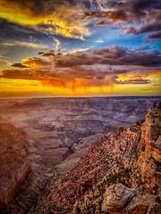 Grand Sunset (Thanks for over 2 million views!!) Tags: chadsparkesphotography sky sunset clouds arizona grandcanyon grandcanyonnationalpark nature iphonex