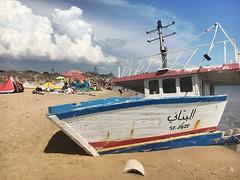 Kartibubbo/ Italy (melqart80) Tags: beach sicilia sizilien sicile italy mediterranean mediterraneo tunisi tunisian arabicboat boat rifugiati trefontane kartibubbo