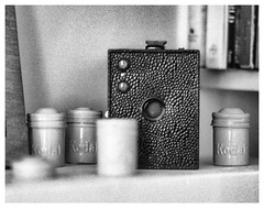 The old Kodak Brownie (Tony Roman Photography) Tags: canon a1 film ilford fp4 iso125 85mm f18 bw objects homeprocessedwithff1monobath brownie kodak camera