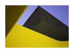 Brutal Yellow Southbank © (wpnewington) Tags: brutalist sun saturatedcolour southbank london brutal architecture yellow saturation colours concrete