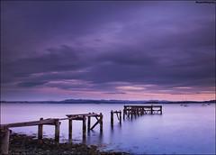 Aberdour Old Pier (Novantae Photography) Tags: aberdour fife scotland uk oldpier abandoned coast riverforth hawkcraigpoint