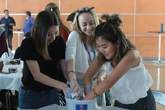 08/07 (ART SCI CENTER - UCLA) Tags: biomimicry mold pouring students sciartnanolab2018 day9