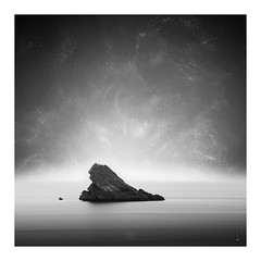 Stargazing (picturedevon.co.uk) Tags: meadfoot beach torquay torbay englishriviera devon uk fineart abstract minimal bw blackandwhite mono seascape stars le water rock coast summer grey canon wwwpicturedevoncouk