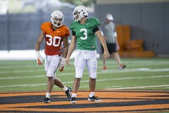Oklahoma State Cowboy Football Practice, Tuesday, August 7, 2018, Sherman Smith Training Center, Stillwater, OK. Bruce Waterfield/OSU Athletics (OSUAthletics) Tags: 2018 big12 cowboys fallcamp football oklahomastate oklahomastateuniversity osu pokes practice
