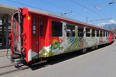 RhB Arosabahn - Bear Carriage (Kecko) Tags: 2018 kecko swiss switzerland schweiz suisse svizzera graubünden graubuenden gr chur railway railroad bahn eisenbahn bahnhof station train zug bärenlandzug bärenland rhb europe rhätischebahn viafierretica rhaetianrailway arosabahn b2319 swissphoto geotagged geo:lat=46853890 geo:lon=9530690