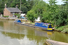 "Barge ""Gailey"". (Wildlife Terry) Tags: working barge britishwaterways crt wheelock sandbach cheshire lockkeeperscottage trentmerseycanal cheshireringcanal"