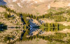 Brewster Lake (jtr27) Tags: dscf0823xl2 jtr27 fuji fujifilm xt20 xtrans xc 50230mm f4567 ois oisii xc50230mmf4567oisii brewsterlake lake reflection grosventre wilderness bridger teton nationalforest hike hiking backpack backpacking wyoming