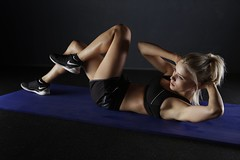 Active adult athlete - Credit to https://homegets.com/ (davidstewartgets) Tags: active adult athlete body exercise fit fitness girl healthy hobby indoors movement person shoes sneakers sportswear sporty strong training wear woman workout