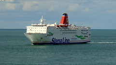 18 08 10 Stena Europe arriving Rosslare (11) (pghcork) Tags: stenaline ferry ferries carferry stenaeurope ireland wexford rosslare ships shipping