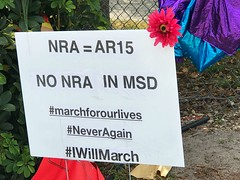 Photo Mar 26, 2 47 13 PM (skitpero) Tags: parkland marjorystonemandouglas florida fl school memorial victims survivors survivor victim flowers signs protest msdhs msdstrong 17 highschool guncontrol neveragain stonemanstrong march soflo remember