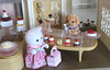 Sylvanian Cake Shop (twinkle_moon_bunny) Tags: sylvanian families poodle cake shop