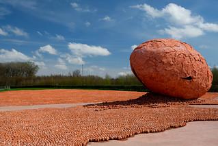 Belgium, Zillebeke landscape art,  Koen Van Mechelen,