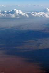 Towards Rock Crossing, CO (zeesstof) Tags: zeesstof aerial aerialview viewfromwindow windowseat flight commercialflight saltlakecitytohouston united unitedairlines colorado fowler unitedstates usa
