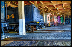 Awaiting Turntable (Darrell Duke) Tags: spencer spencernc nctransportationmuseum trains locomotives hdr hdrphotography