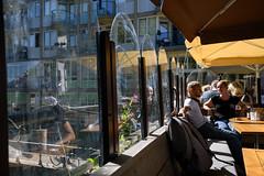 Cafe on the bridge (Julysha) Tags: people amsterdam bridge cafe city summer july thenetherlands dutch holland terras 2018 acr nikon d850 sigma241054art