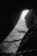 Tidal (ADMurr) Tags: california coastal rocks beach tide wave sf sutro baths leica m6 kodak 400 bw black white monochrome dac786