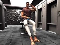 Workout break (cheflew1) Tags: firestorm secondlife doux toni hairstyle soul identity sean sandals httpswwwyoutubecomwatchvhj6dprsv0nu