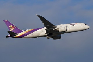 HS-TQD Thai Airways Boeing B787-8 Dreamliner