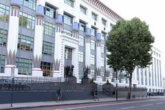 Greater London House-6 (Paul Dykes) Tags: carrerascigarettefactory artdeco egyptian greaterlondonhouse offices london morningtoncrescent england uk summer heatwave unitedkingdom greatbritain meandohcollins agporri egyptianrevival
