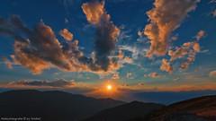 Sonnenuntergang am Rappoldkogel 1 (Bikerwolferl) Tags: natur sonnenuntergang berg himmel landschaftspanorama landschaft imfreien sonnenaufgangdämmerung schönheitdernatur sonne sommer abenddämmerung wald berggipfel nature mountain sky scenics landscape outdoors cloudsky sunrisedawn beautyinnature sun dawn sunlight summer cloudscape mountainpeak