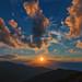 Sonnenuntergang am Rappoldkogel 1