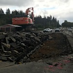 Excavating the roadway thumbnail
