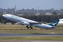 B-LAC A333 CATHAY PACIFIC YBBN (Sierra Delta Aviation) Tags: cathay pacific airbus airbusa330 a333 brisbane airport ybbn blac