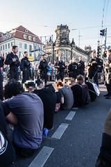 IMG_0524 (Lukas Kretzschmar) Tags: presse nopegida pegida nazis gegendemo hope sitzblockade polizei fotos pressebilder sachsen dresden fcknzs fckpgda